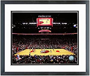 Portland Trail Blazers Moda Center NBA Arena Photo (Size: 26.5 x 30.5) Framed by NBA