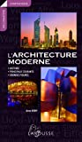 L'architecture moderne