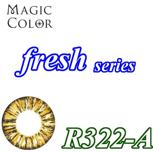MAGICCOLOR (マジックカラー) fresh R322ーA 度なし 14.5mm 1ヵ月使用 2枚入り
