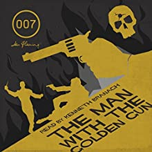 The Man with the Golden Gun (with Interview) Audiobook by Ian Fleming Narrated by Kenneth Branagh
