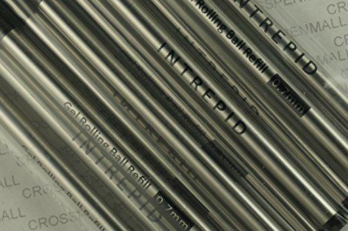 10-genuine-intrepid-gel-ink-rollerball-rolling-ball-refills-for-montblanc-rollerball-pens-bulk-pack-