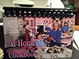 img - for At Home with Family and Friends Cookbook book / textbook / text book