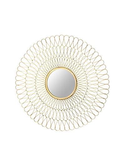 Artistic Flux Mirror, Gold