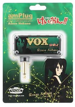 VOX ヴォックス ヘッドフォンアンプ けいおん!! amPlug 第3弾 中野梓モデル AMPLUG AZUSA NAKANO BK 黒