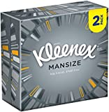 Kleenex Mansize Compact Facial Tissues 50 Sheets Twin Pack - Pack of 12