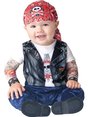 Born To Be Wild Costume - Infant Medium