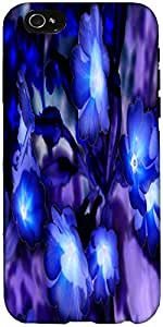 Snoogg Glowing Flowers Inspired 2634 Designer Protective Back Case Cover For ...