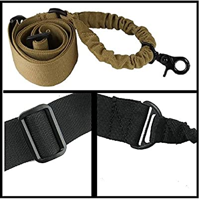 Ultimate Arms Gear IDF Israeli Defense Forces Slip On OD Olive Drab Green Mount Loop Adapter Rifle Shotgun Velcro Attachment with D-Ring For Ruger American Mini-30 CZ 527 + Sling, Tan