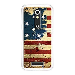 Moto X3 Back Cover by Vcrome,Premium Quality Designer Printed Lightweight Slim Fit Matte Finish Hard Case Back Cover for Moto X3