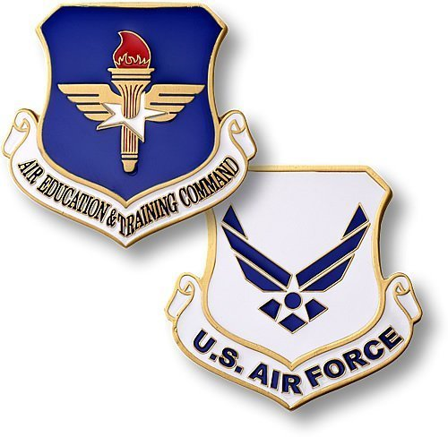 Air Education and Training Command Enamel - 1