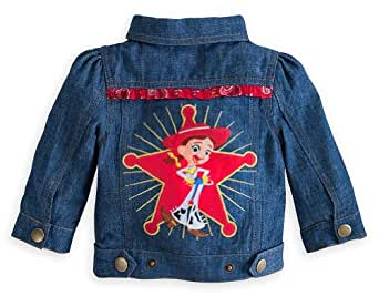 Disney Store Toy Story Jessie Cowgirl Denim Jacket Toddler Costume