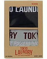 Mens Underwear Tokyo Laundry Boxers Shorts Trunks Stripe Plain Stretch 2 Pack