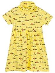 Oye Girls Dress - Yellow (1-2Y)