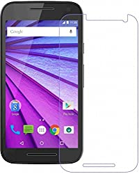 Shop Buzz Tempered Glass Screen Guard for Motorola G Turbo Edition (Designed for Moto G Turbo)