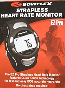 Bowflex EZ Pro Strapless Heart Rate Monitor WR30M (Black)