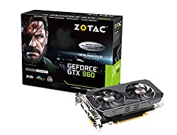 ZOTAC GeForce GTX 960 METAL GEAR SOLID V グラフィックスボード VD5647 ZTGTX96-2GD5MGS01