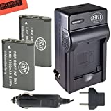 BM Premium 2-Pack of NP-BX1 NP-BX1/M8 Batteries & Charger for Sony DSC-HX80, HDR-AS50, CyberShot DSC-RX1, DSC-RX1R, DSC-RX1R II, DSC-RX100, DSC-RX100M II, DSC-RX100 III, DSC-RX100 IV, DSC-H400, DSC-HX300, DSC-HX50V, DSC-WX300, DSC-WX350, HDR-AS10, HDR-AS15, HDR-AS30V, HDR-AS100V, HDR-AS100VR, HDR-AS200V, HDR-AS200VR, HDR-CX240, HDR-CX405, HDR-CX440, HDR-PJ275, HDR-PJ440, HDR-MV1, FDR-X1000V, FDR-X1000VR Digital Camera