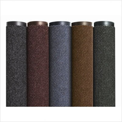 Notrax 136 Polynib Brown Entrance Matting (Best) with Vinyl Backing, 3' W x 4' L, For Lobbies and Indoor Entranceways