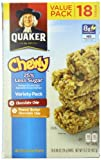 Quaker Chewy Granola Bars Variety Pack, Reduced Sugar, 15.2 Ounce