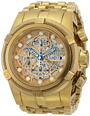 Invicta Men's 12763 Bolt Analog Display Mechanical Gold Watch