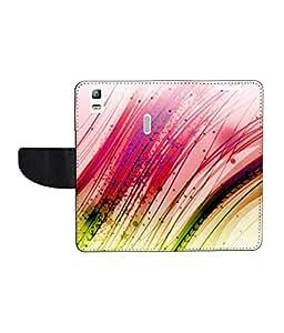 KolorEdge Printed Flip Cover For Lenovo A7000 - Multicolor(55KeMLogo8110LenovoA7000)