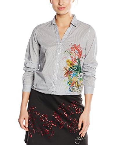 Desigual Shirt Cam_Abril Rep, 5003 Celeste Pa