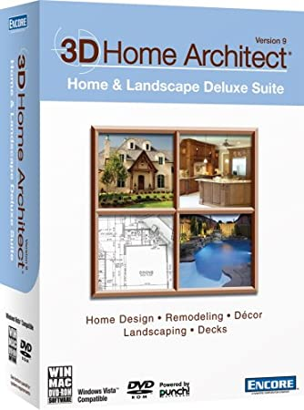 3D Home Architect Home & Landscape Deluxe Suite Version 9 [Old Version]