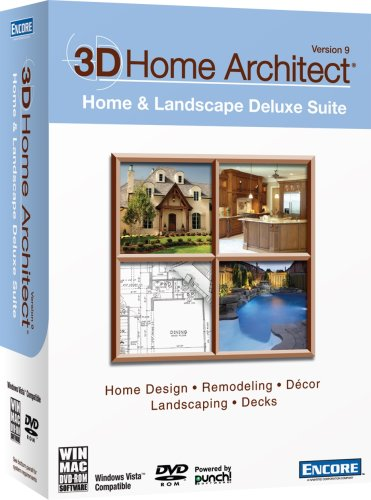 3D Home Architect Home & Landscape Deluxe Suite Version 9