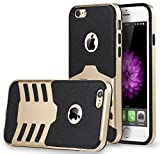 CellEver iPhone 6s Case Slim Shock Absorbing TPU Cover for Apple iPhone 6 / 6S (4.7 INCH) - Gold