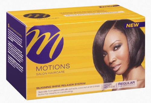 Motions Silkening Shine Relaxer System Regular Case Pack 6 Motions Silkening Shine Relaxer System R