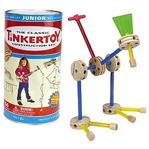 Junior TinkerToy Building Set (66 pcs)