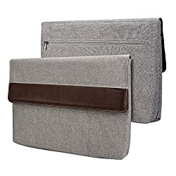 Gmyle Sleeve Cushion for Macbook 12 inch with Retina Display - Grey & Brown
