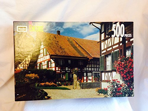 Swiss Farmhouses - 500 Piece Jigsaw Puzzle