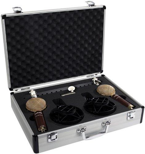 Cascade Microphones Fat Head Ii Blumlein, Stereo Pair, Brown/Gold