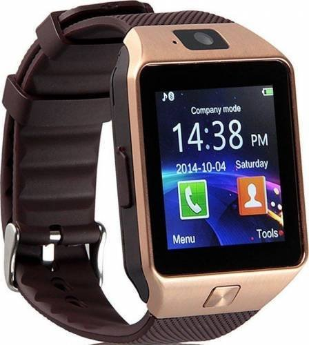 Amazingforless Gold Bluetooth Touch Screen Smart Wrist Watch Phone Mate with Camerafor Smartphone SIM/TF Apple iphone 4/4S/5/5C/5S/6/6s/6plus/6splus/7 Android Samsung S2/S3/S4/S5/S6/S7/Note 3/4/5/7
