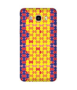 Stripes And Elephant Print-87 Samsung Galaxy J5 Case