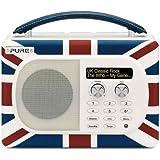Pure Evoke Mio Portable DAB Digital/FM Radio - Union Jack