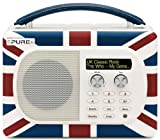 Pure Evoke Mio Portable DAB Digital/FM Radio - Union Jack