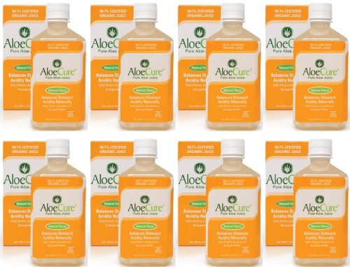 AloeCure® Natural 8 bottle - 1 month supply