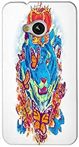Timpax protective Armor Hard Bumper Back Case Cover. Multicolor printed on 3 Dimensional case with latest & finest graphic design art. Compatible with HTC M7 Design No : TDZ-28499