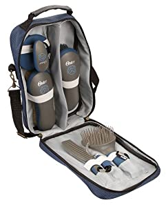 Oster Equine Care Series 7-Piece Grooming Kit, Blue