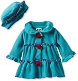 Good Lad Baby-Girls Infant Rosebud Fleece Jacket