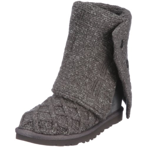 UGG Australia Women's Lattice Cardy Boots Charcoal