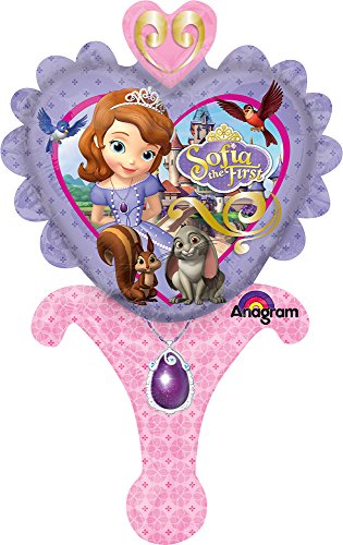 "Mayflower Distributing Sofia The First Inflate-A-Fun Balloon, 12"", Multicolor - 1"