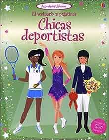Chicas deportistas. El vestuario en pegatinas: Fiona/Arrowsmith, Vicky