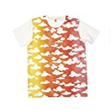 Clouds Print Unisex T-Shirt by Graniph