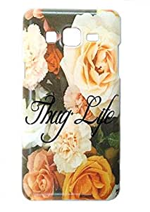 DRaX® Samsung Galaxy On5 / On5 Pro Hard Printed High Quality Back Case Cover - Flowers