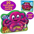The Learning Journey Touch And Learn Count And Learn Octopus Learning Toy by The Learning Journey