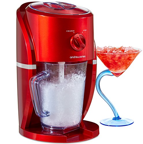 andrew-james-electric-ice-crusher-slush-maker-in-red-25-watts-1-litre-capacity