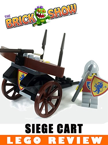 LEGO System Classic Knights Siege Cart Review